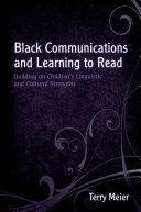 Black Communications and Learning to Read Pdf/ePub eBook