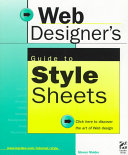Web Designer s Guide to Style Sheets