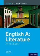 Cover of English A Literature: IB Skills and Practice