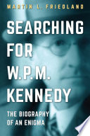 Searching For W P M Kennedy