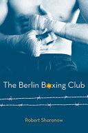 The Berlin Boxing Club Pdf/ePub eBook