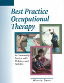Best Practice Occupational Therapy