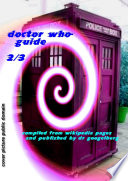 Doctor Who Guide 2 3