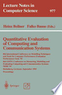 Quantitative Evaluation of Computing and Communication Systems Book