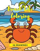 Beach Life Coloring
