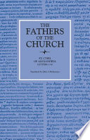 Letters 1 50 The Fathers Of The Church Volume 76