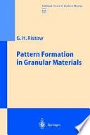 Pattern Formation in Granular Materials