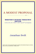 A Modest Proposal  Webster s Spanish Thesaurus Edition