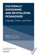 Culturally Sustaining and Revitalizing Pedagogies Book