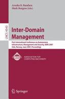 Inter-Domain Management