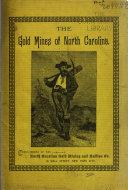 The Gold Mines of North Carolina