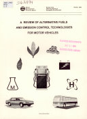 A Review of Alternative Fuels and Emission Control Technologies for Motor Vehicles