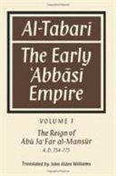 Al-̣Tabarī: Volume 1, The Reign of Abū Ja'Far Al-Maṇsūr A. D. 754-775
