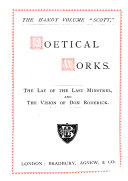 The lay of the last minstrel  The vision of Don Roderick