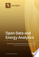 Open Data And Energy Analytics Book PDF