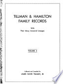 Tillman & Hamilton Family Records