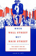 When Wall Street Met Main Street