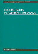 Crucial Issues in Caribbean Religions