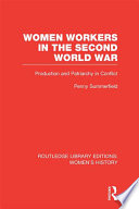 Women Workers in the Second World War