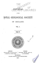 Journal of the Royal Geological Society of Ireland Book