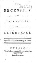 The Necessity and True Nature of Repentance