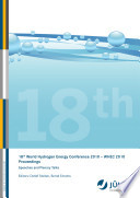 18th World Hydrogen Energy Conference 2010     WHEC 2010 Proceedings Speeches and Plenary Talks