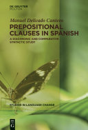 Prepositional Clauses in Spanish