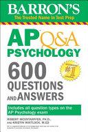 Barron s AP Q A Psychology