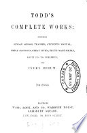 Todd s complete works Book