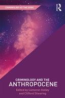 Criminology and the Anthropocene Pdf/ePub eBook