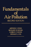 Fundamentals of Air Pollution 2e