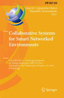 Collaborative Systems for Smart Networked Environments Pdf/ePub eBook