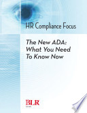 The New ADA: What You Need to Know Now