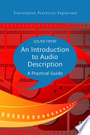 An Introduction To Audio Description Book