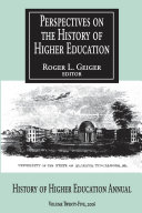 Perspectives on the History of Higher Education Pdf/ePub eBook