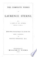 The Complete Works Of Laurence Sterne Book PDF