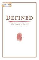 Defined Pdf/ePub eBook