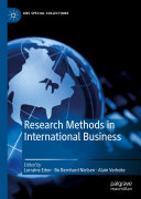 Research Methods in International Business