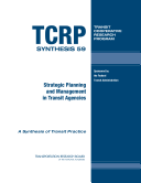 Strategic Planning and Management in Transit Agencies