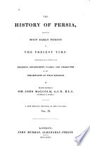 The History of Persia Book