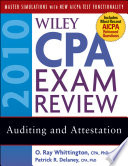 Wiley CPA Exam Review 2010, Auditing and Attestation