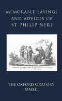 Memorable Sayings and Advices of St Philip Neri
