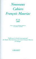 Nouveaux cahiers François Mauriac [Pdf/ePub] eBook