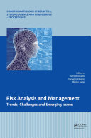 Risk Analysis and Management   Trends  Challenges and Emerging Issues
