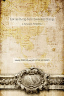 Law and Long Term Economic Change