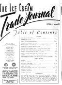Ice Cream Trade Journal Book