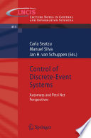 Control of Discrete Event Systems
