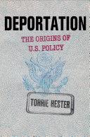 Deportation: The Origins of U.S. Policy - Seite 185