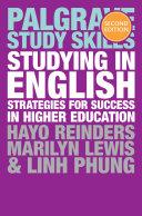 Studying in English [Pdf/ePub] eBook