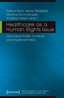 Healthcare as a Human Rights Issue Pdf/ePub eBook
